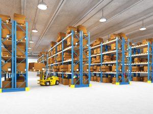 Industrial Strength Metal Shelf Rack System