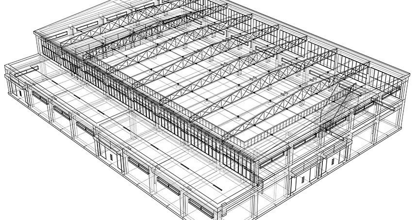 Warehouse CAD Layout | In-Plant Modular Office