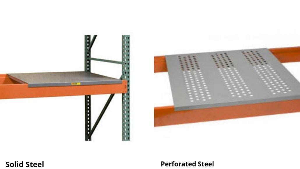 Solid Steel Decking | Perforated Steel Decking
