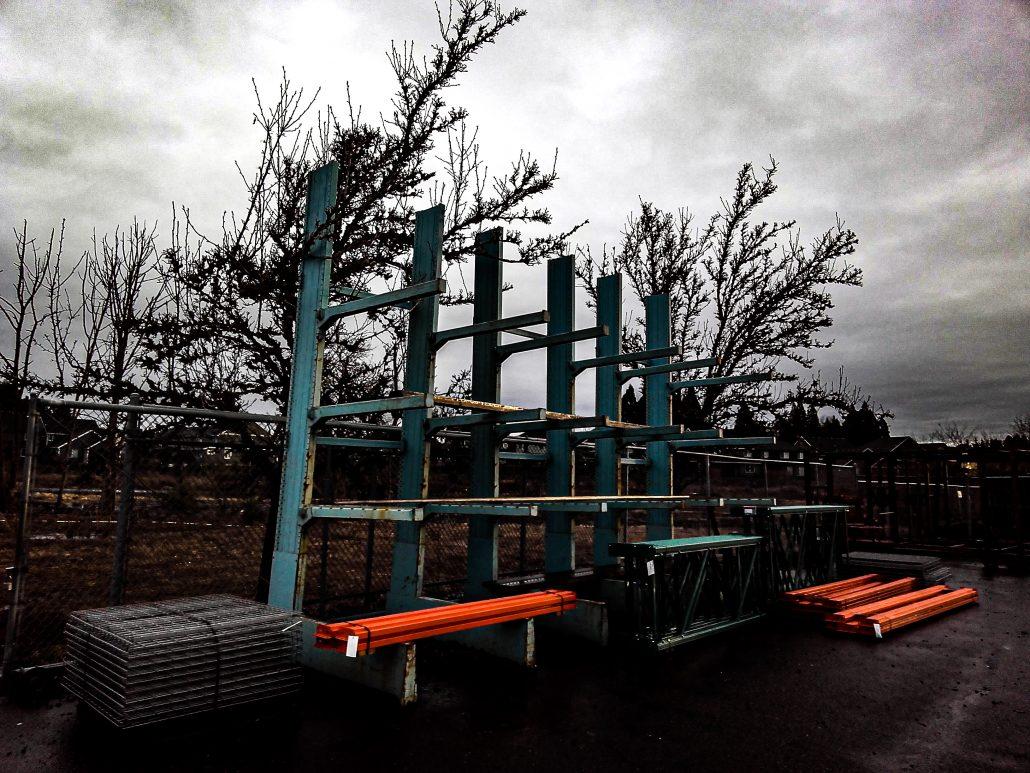 Lumber Racks   cantilever racking   Speedrack West