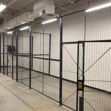 RapidWire Wire Mesh Partition Cage – Multiple Sizes