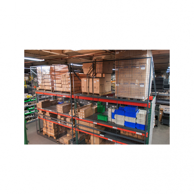 Pallet Rack Back Guard Wire Mesh Panel