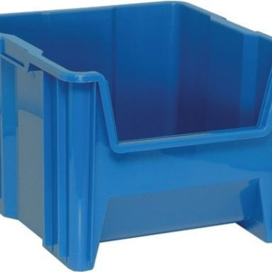 Giant Plastic Storage Stackable Bins 17″Wx16″Dx13″H