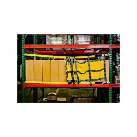 Quick Install Sliding Pallet Rack Safety Nets