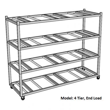 Portable Mortuary Storage Rack
