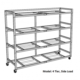 Portable Mortuary Storage Rack